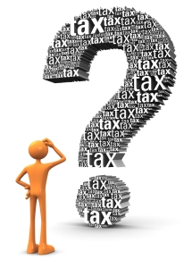 Tax Question mark